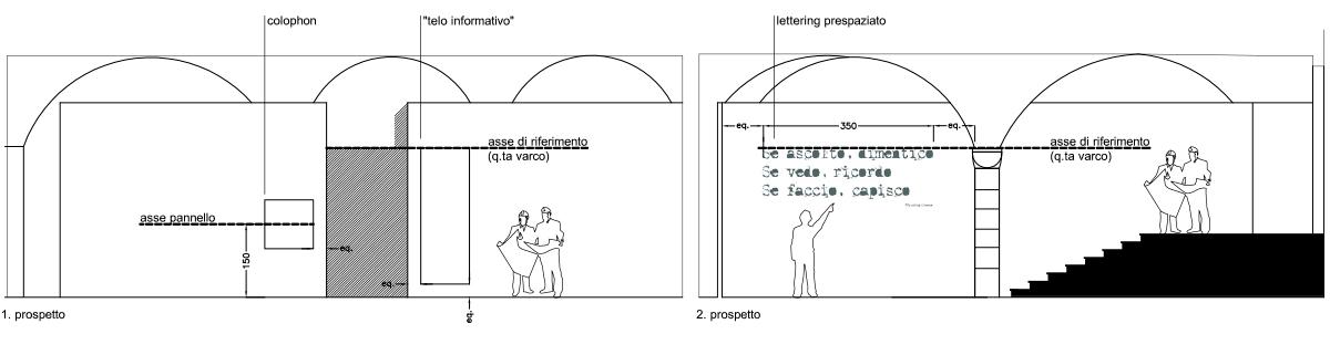 Festival Scienza progetto allestimento architetto alessandro iozzia maddalieno