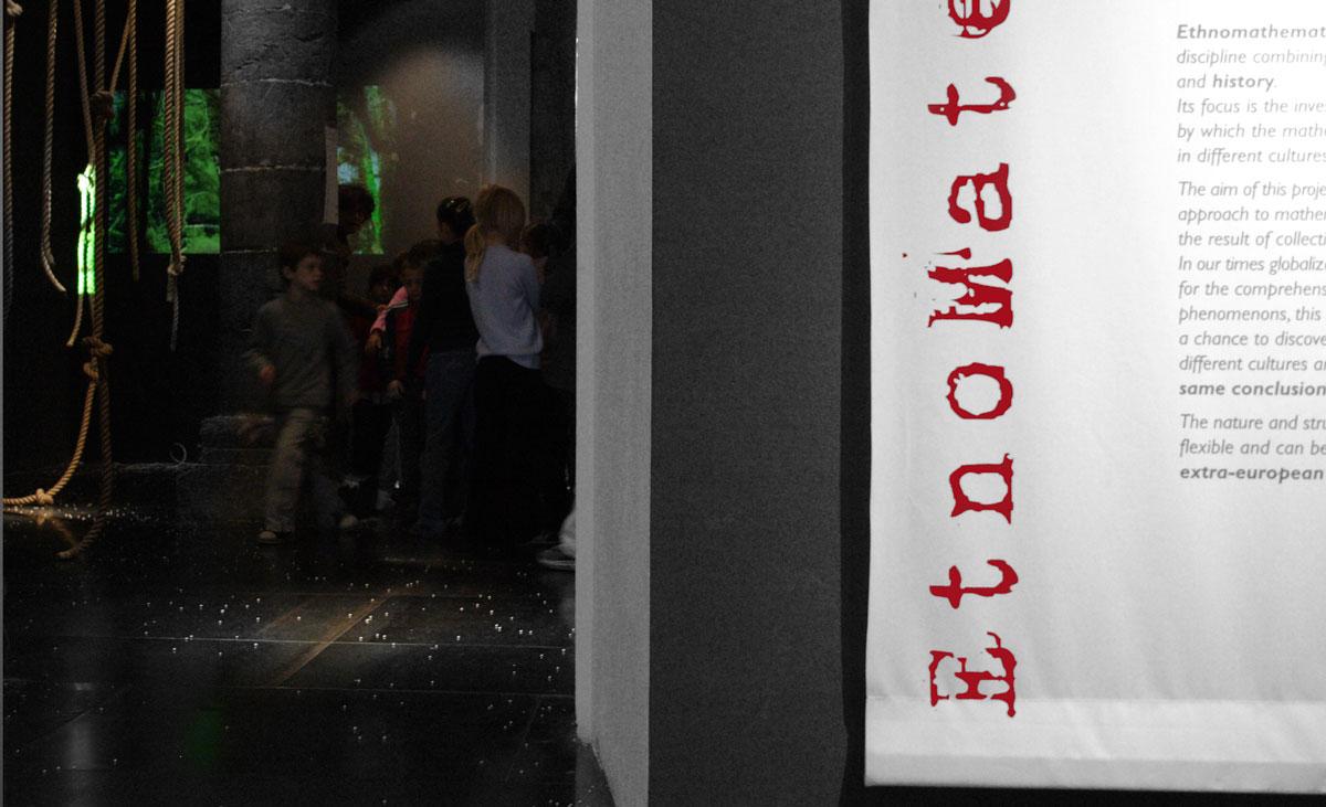 Festival Scienza visione laboratorio etnomatematica genova 2007